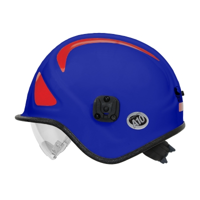 813-32XX PIP® Pacific Blue A10™ Ambulance & Paramedic Helmet with Retractable Eye Protector