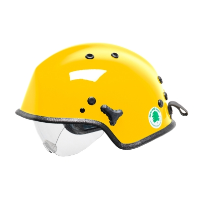 818-30XX PIP® Pacific Yellow WR7H™ Water Rescue Helmet with Retractable Eye Protector