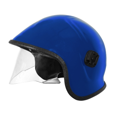 PIP Blue A7A™ Police & Paramedic Helmet with Retractable Eye Protector