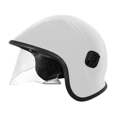 PIP White A7A™ Police & Paramedic Helmet with Retractable Eye Protector