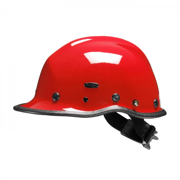 854-6020 PIP® Pacific R5™ Rescue/Industrial Helmet w/ ESS Google Mounts: RED