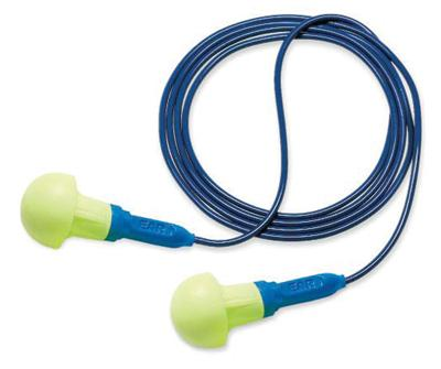 Push-Ins™ No Roll Down Corded Earplugs, 3181003 3M™ E-A-R-® Push-Ins™ Disposable Corded Earplugs