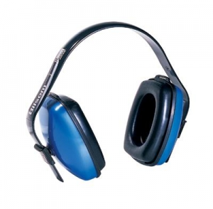Howard Leight® Viking™ V1 Light Blue Plastic Multi Position Noise Blocking Earmuffs