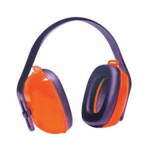 NRR25 Orange Multi-Position Earmuff