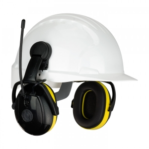 264-45102 PIP Hellburg™ Secure™ Relax Electronic Cap Mounted Ear Muffs w/ AM/FM Radio