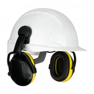 264-47102 PIP® Hellburg™ Secure™ Active Electronic Cap Mounted Ear Muffs w/ Active Listening