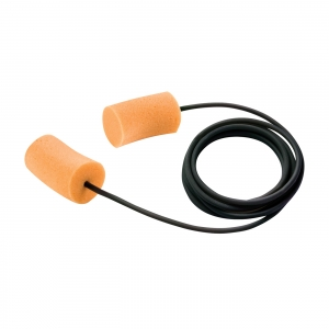 PIP® Disposable Soft PVC Foam Corded Ear Plugs - NRR 30,  267-HPF700C