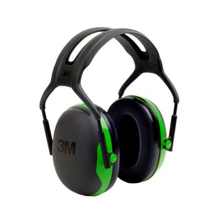 3M™ Peltor™ Black And Green Model Hearing Conservation Earmuffs