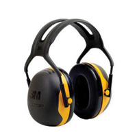 3M™ Peltor™ Black And Yellow Model Over the Head Hearing Conservation Earmuffs