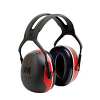 3M™ Peltor™ Red And Black Model X3A Over-The-Head Hearing Conservation Earmuffs