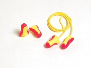Howard Leight® Single Use Laser-Lite® Contoured T-Shape Polyurethane And Foam Corded Earplugs