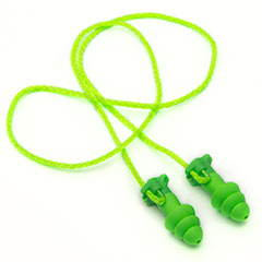 6770 Moldex® Universal Flip to Listen™ Triple-Flange Dual Mode Corded Earplugs w/ Pocket Pack