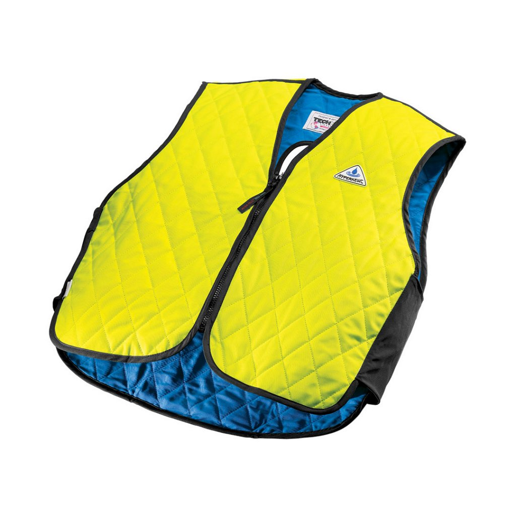 Techniche 6529 HyperKewl™ Adult Cooling Vests - Hi-Viz Lime