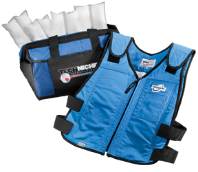 Techniche CoolPax™ Phase Change Evaporative Cooling Vests - blue