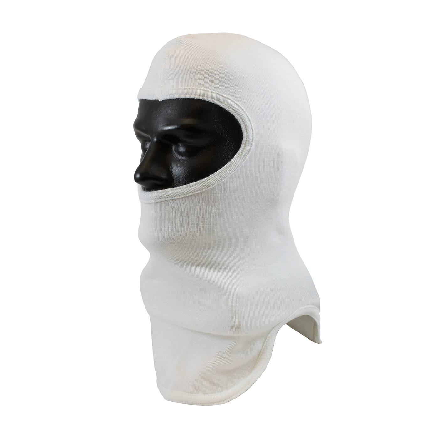 PIP® Double-Layer Tri-Cut White Nomex® Hood - Full Face #906-100NOM7