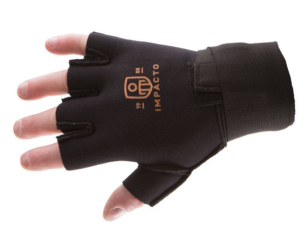 #785-00 Impacto® Anti Fatigue half finger neoprene gloves with detachable wrist support