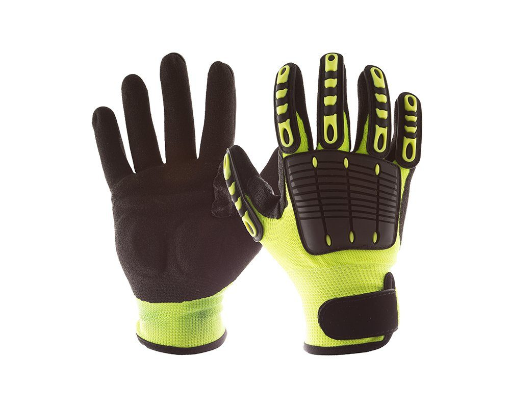 #NS28200 Impacto® Back Tracker Anti-Impact Glove with Back of the Hand Protection