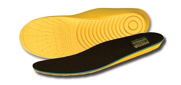 Anti-fatigue insoles