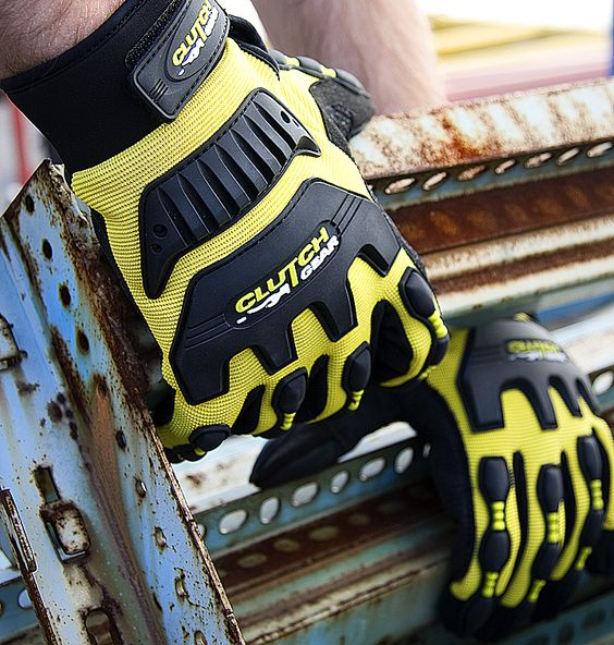 #MXVSBFL Superior Glove® Clutch Gear® Winter Impact Mechanics Gloves