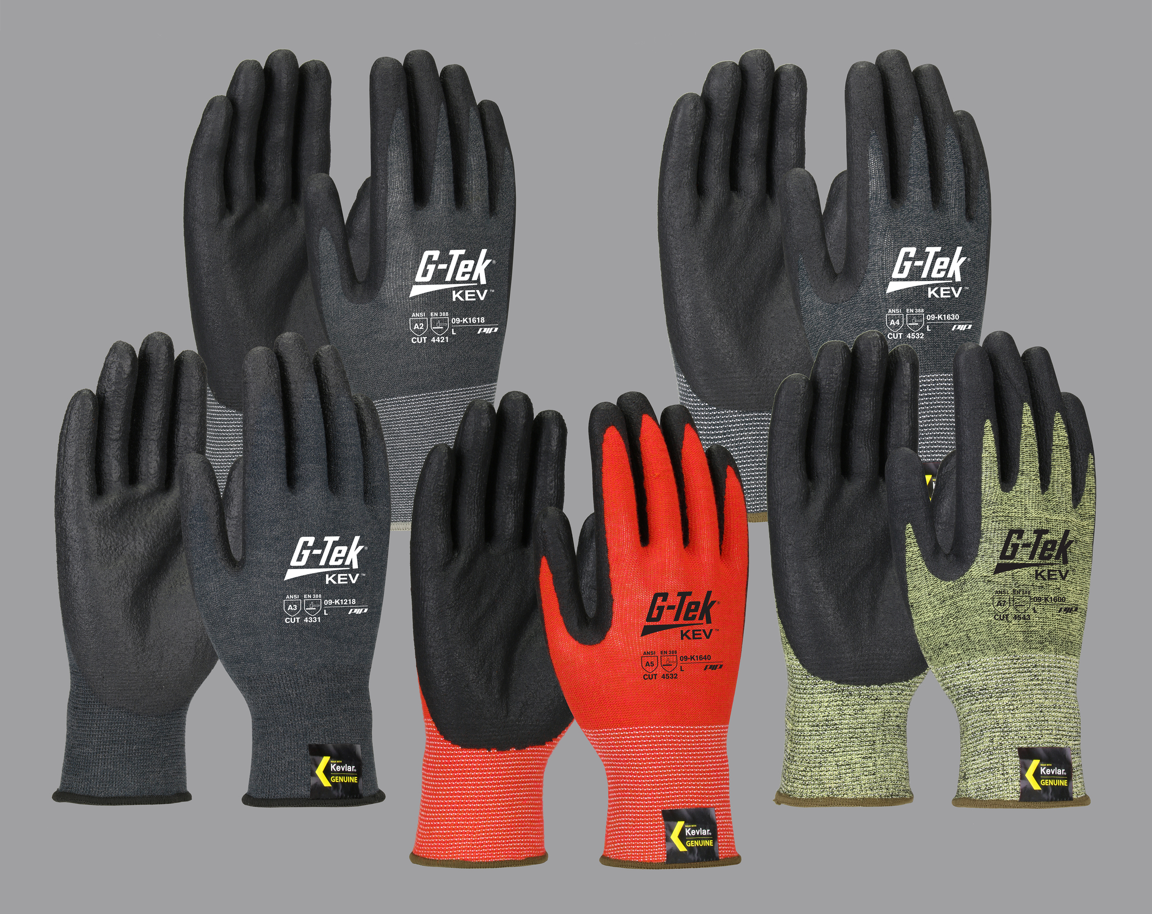 G-Tek® KEV™ Gloves | The Power of Kevlar® | Cut and Heat Resistant