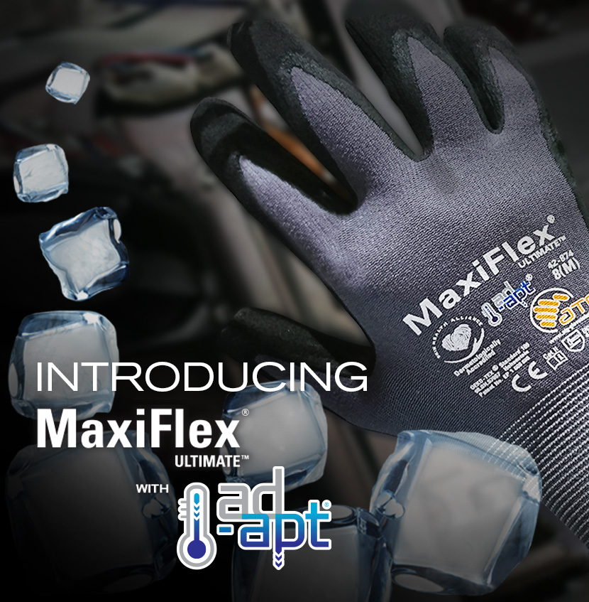 PIP® Maxiflex® Ultimate™ AD-APT® Palm Coated Gloves