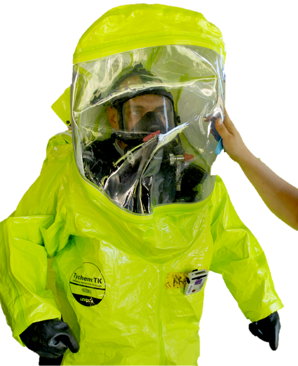 Image of Encapsulated Protective Suits