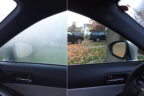 Automotive Interior Condensation