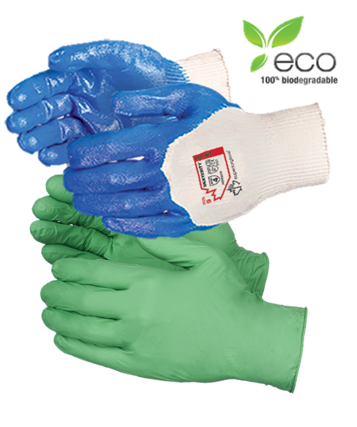 100% Biodegradable Work Gloves