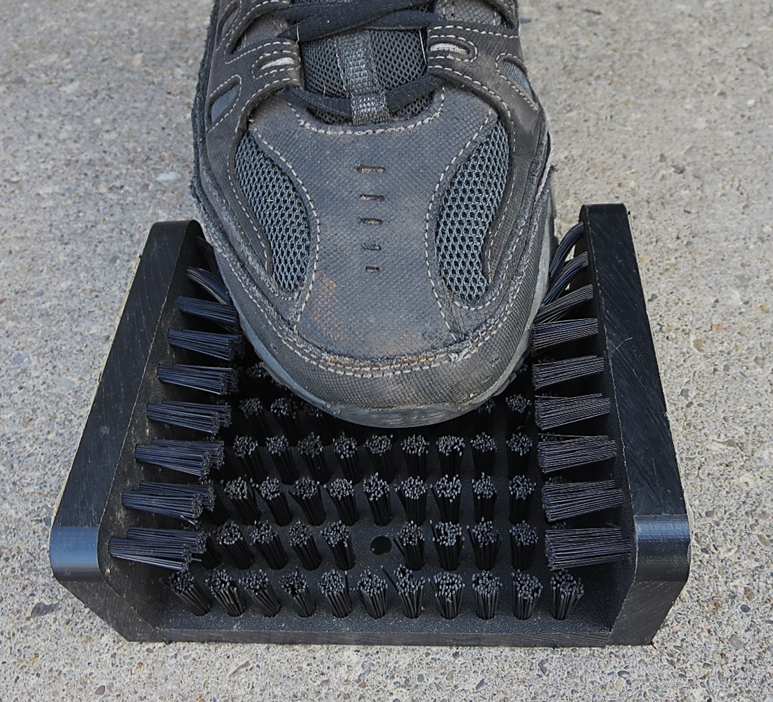Commercial Grade Mountable Polypropylene Boot Scraper