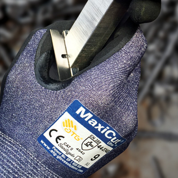 ATG® Series | MaxiCut® Ultra™ MicroFoam Nitrile Grip Gloves