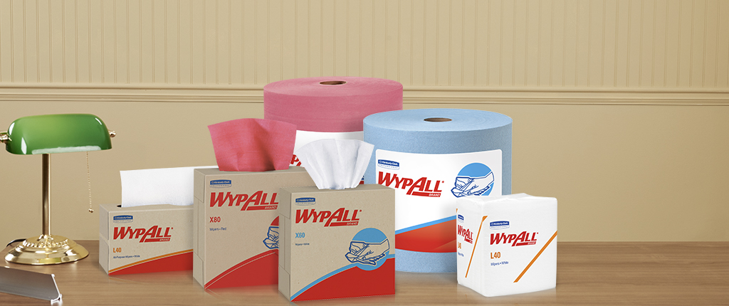 Kimberly Clark® Wypall Brand Disposable Wipers