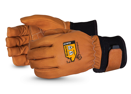 378FRV - Superior Glove®  Endura® Flame-Retardant, and Anti-Vibe Goat-Grain Shipwright Gloves