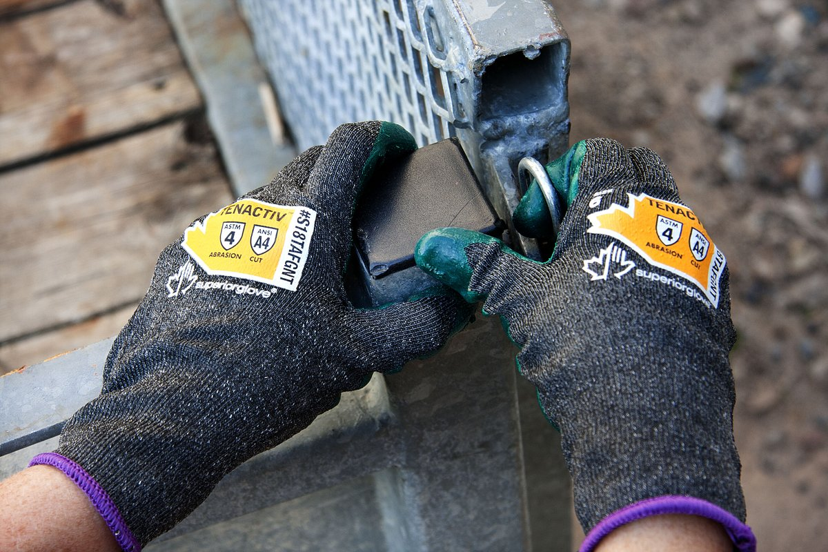 TenActiv™ Heavy 18-Gauge Composite Gloves with ZedCoat™