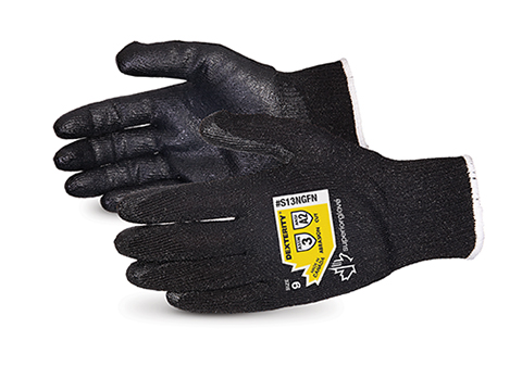 S13NGFN Superior Glove® Dexterity® High Abrasion and Cut Resistant Work Glove with Foam Nitrile Palm
