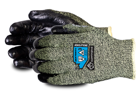 SKG/PXNE - Superior Glove®  Dexterity® Kevlar®/ Protex® Heat-and-Cut-Resistant, Winter-Lined Arc Flash Glove With Neoprene Palm