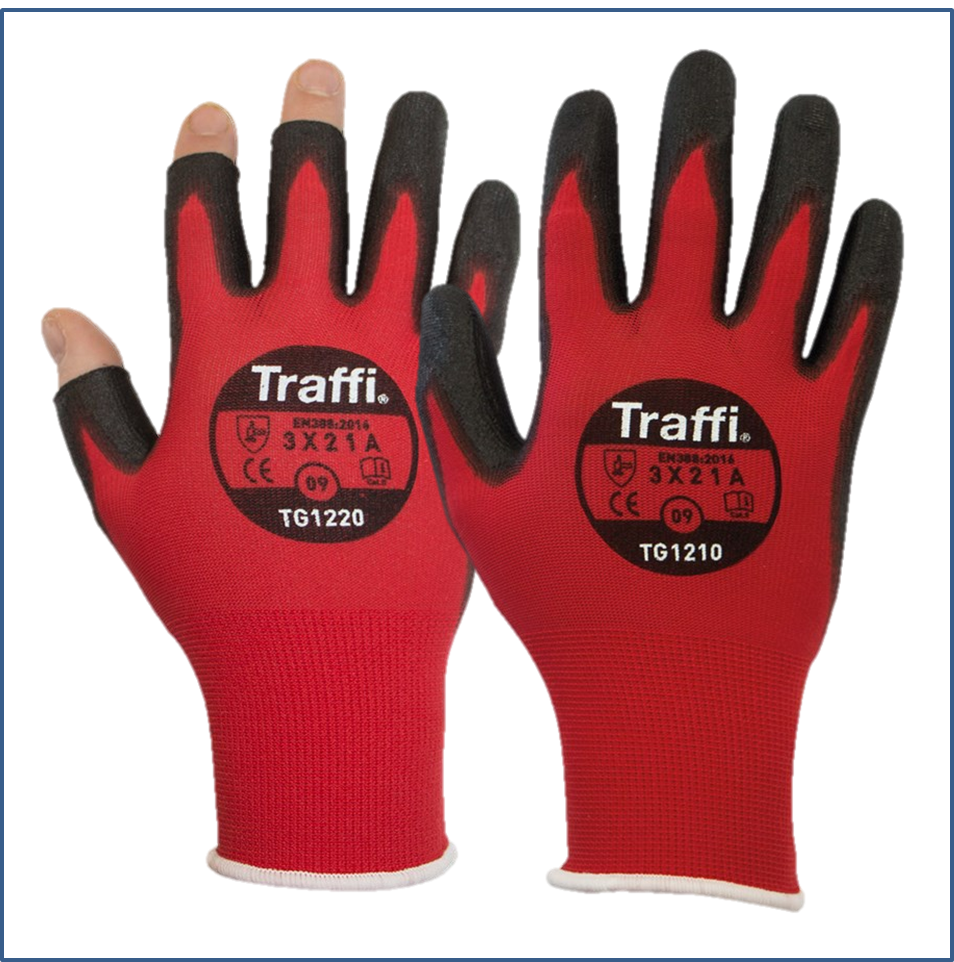 TG1220 and TG1210 Traffi Gloves