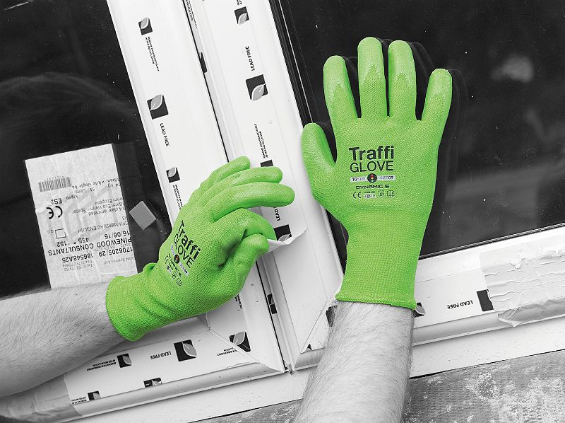 TG5120 TraffiGlove® Dynamic 5 Cut Safety Grip Gloves