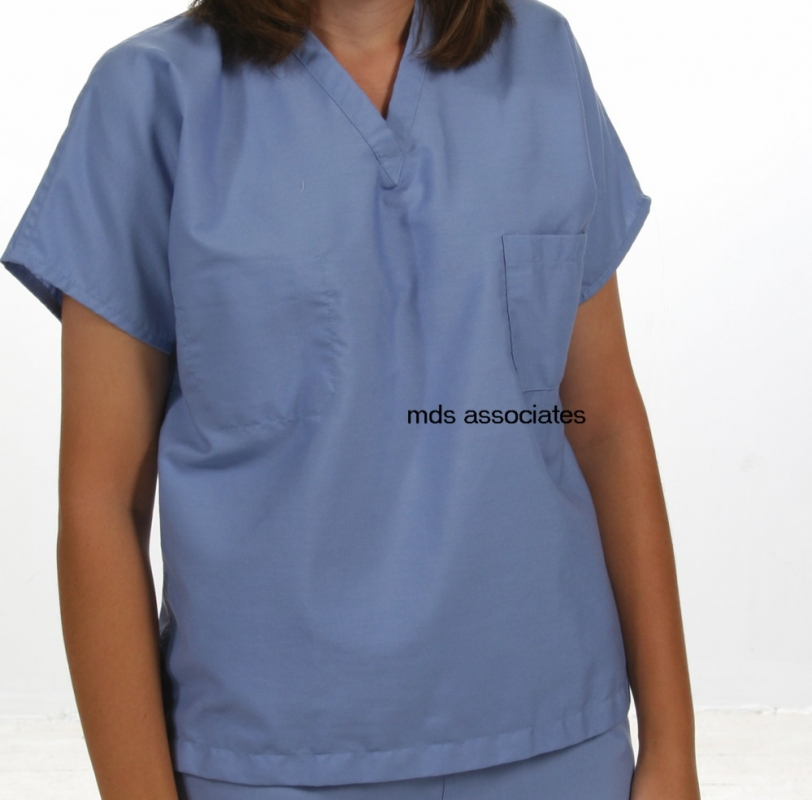Pinnacle Textile Reversible V-Neck Scrub Shirts