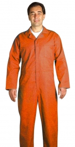Industrial Coveralls, CODC Pinnacle Textile Industrial Shop Coveralls - 65/35 Blend