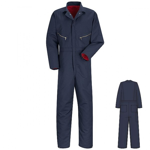 Pinnacle Textile Worx Twill Insulated Industrial Coveralls