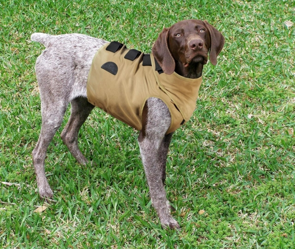 Warwick Mills Turtleskin® Dog SnakeArmor Vest w/ Optional Neck Protection