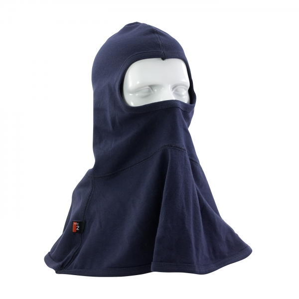 #385-FRBL11 PIP® Single-Layer AR/FR Interlock Cotton Balaclava - 11.8 Cal/cm2