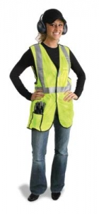 MDS Economy Break-Away Safety Vest w/ Scotchlite™ Reflective Tape - Class R2