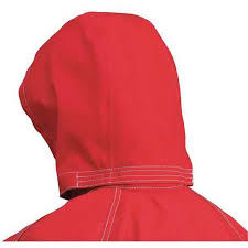 Ansell® AlphaTec® Red Three Piece Detachable Chemical Resistant Hoods
