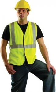 #OCCSSG/FR OccuLux® Hi-Vis Modacrylic Safety Vest w/  3M™ Scotchlite™ Reflective Material - Class R2
