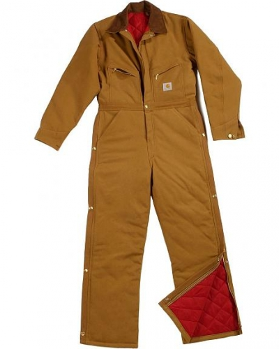 Carhartt® Men's Quilt Lined Duck Coveralls