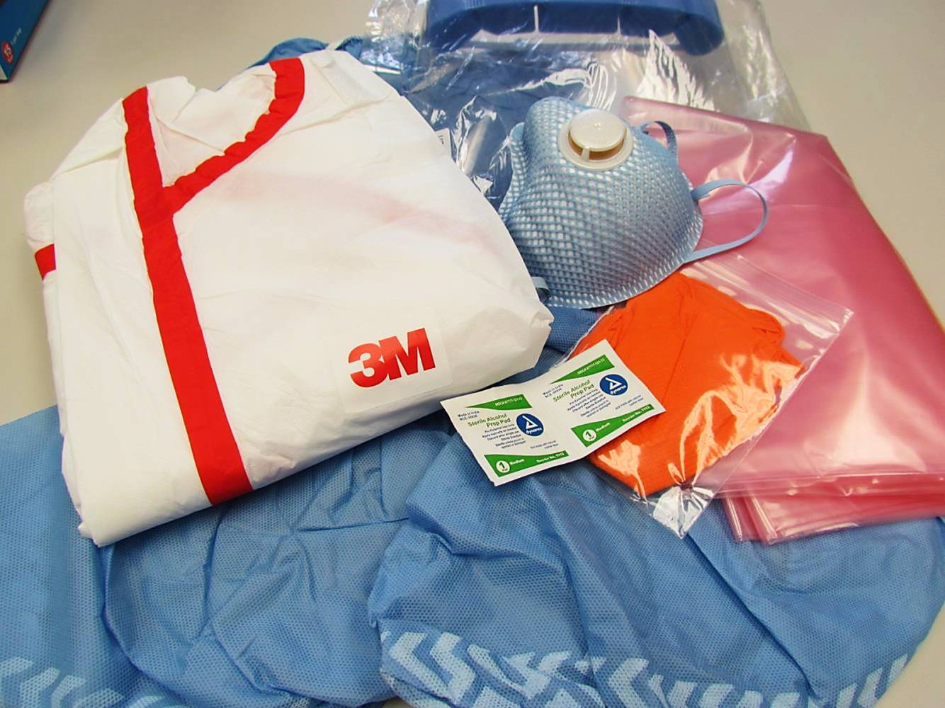 Disaster Response PPE 3M Coverall Kits