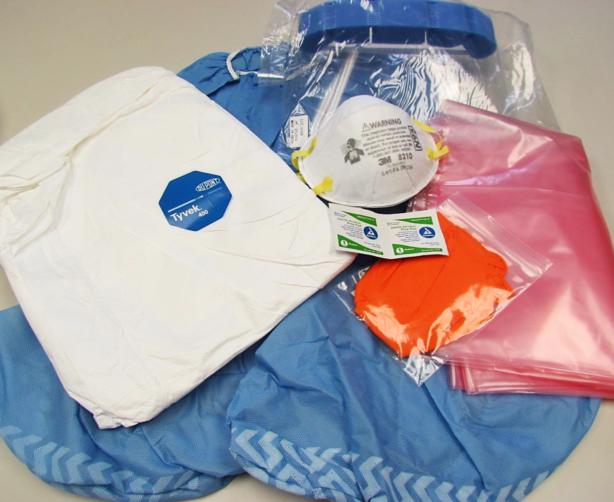 Disaster Response PPE Tyvek Coverall Kits