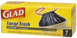Glad® Drawstring Outdoor Trash Bags