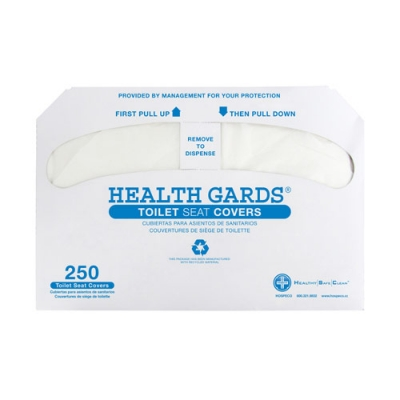 #HG-2500 Hospeco® Health Gards® Half-Fold Disposable Toilet Seat Covers